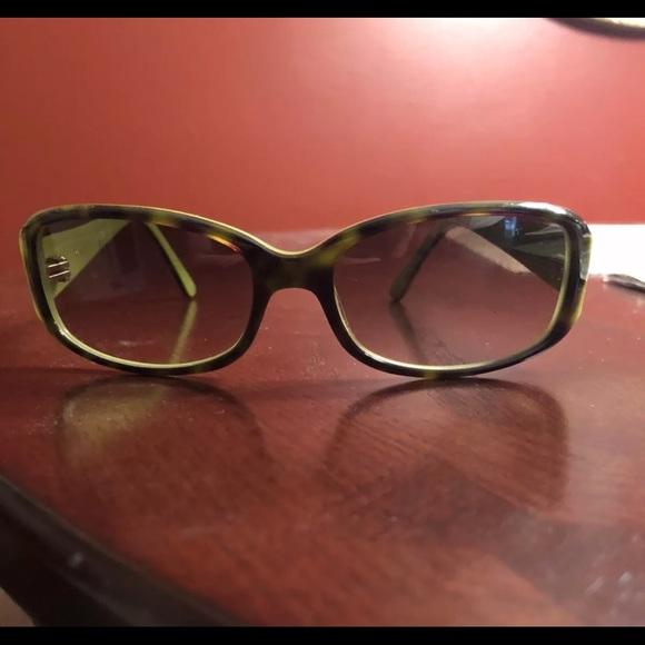 d5d50d92089cc Kate Spade N S DV2 53-16-130 Sunglasses - Green